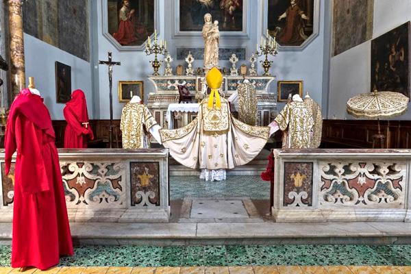 Altare chiesa di S. M. Materdomini